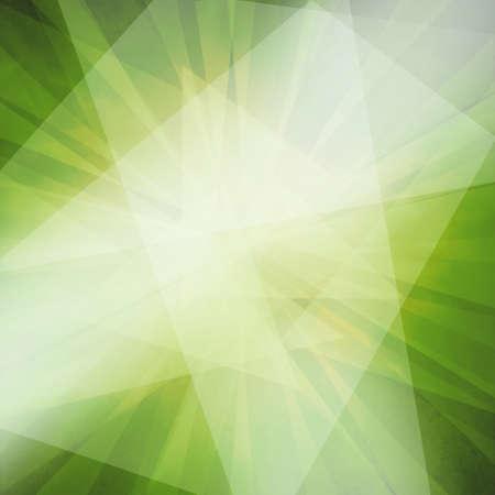 angles abstraits et des couches en vert fond noir et blanc