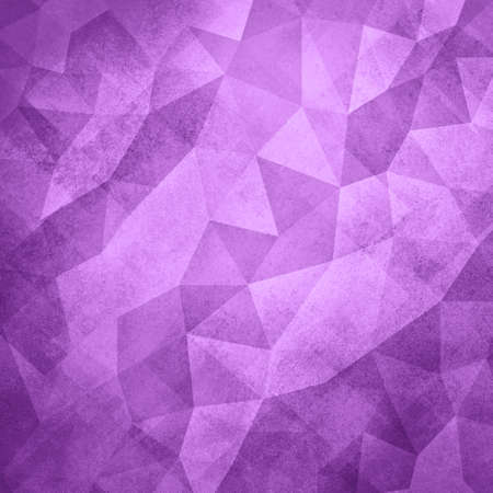 facets: purple background. Low poly purple background. Triangle shapes in mosaic pattern of diamond facets, low poly triangular style background design texture