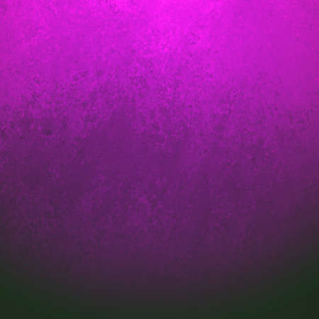 retro background: black background with grunge purple pink border texture, gradient bright pink color blended into dark black color, elegant classy background with sponge wall paint texture