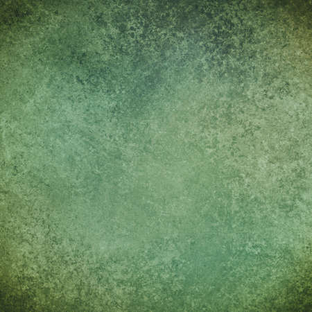 sponged: old blue green background texture Stock Photo