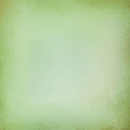 sponged: green background, vintage color and sponged distressed texture in soft blended brush strokes with light center and darker border