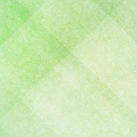 st patricks day: green background with white angled blocks and stripes in abstract pattern with vintage scratch texture design and faint detailed brush strokes