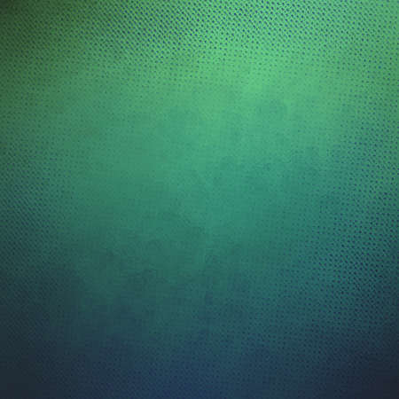 teal blue green background with detailed fine canvas texture pattern of tiny blocks or squares in diagonal angles Stock Photo