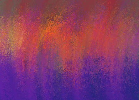 abstract grunge: abstract purple pink and gold background with smeared grunge texture and bright gold color splash across top Stock Photo
