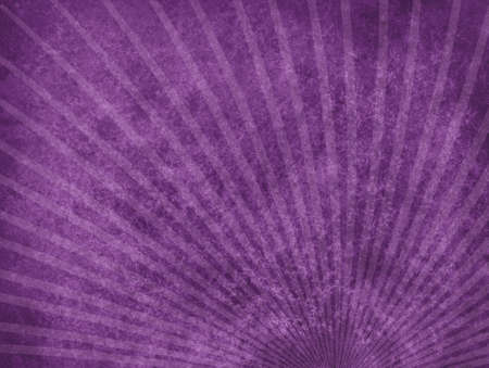 faint: abstract purple background with rough distressed aged texture and faint starburst or sunburst design in thin lines, grunge retro background