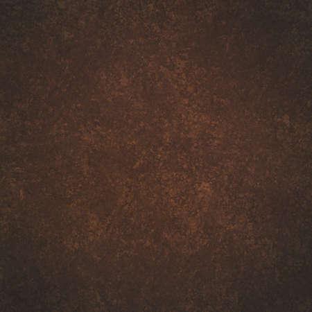diseño de fondo marrón oscuro sólido con diseño de textura grunge desordenado débil Foto de archivo