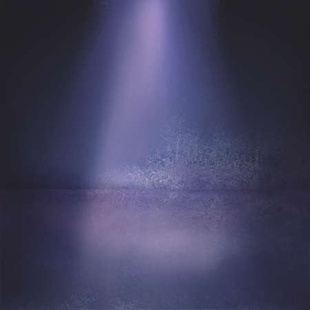 purple background: spotlights on stage