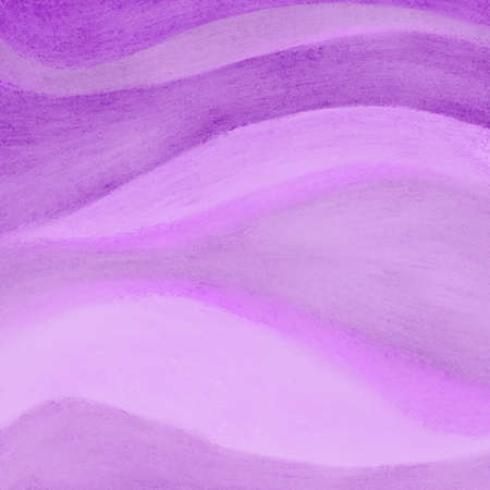 textured backgrounds: wavy streaks of purple pink paint in abstract pattern, purple background design with fun waves or curved stripes or lines Stock Photo