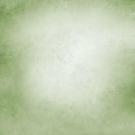 elegant christmas background: green and white background Stock Photo