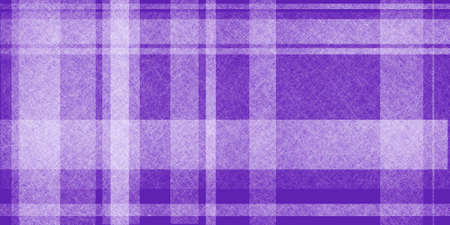white linen: abstract purple and white plaid background with random spaced stripes in white linen texture