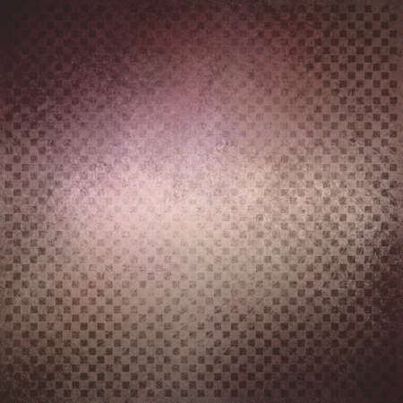 black block: brown pink background with black checkered design, abstract background, block squares in fine detailed pattern layer