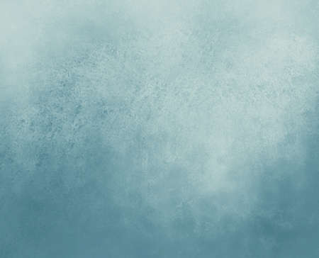 dull: dull blue background with blurred light blue border Stock Photo