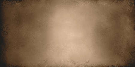 brown backgrounds: light golden brown metal background with shiny vintage grunge texture Stock Photo
