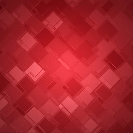 techno: red diamond block pattern background, Christmas color, abstract background design, techno background Stock Photo