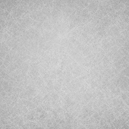 smeary: abstract silver gray background white center darker border with sponge vintage grunge background texture, distressed rough smeary paint on wall, art canvas board, brochure ad, website template Stock Photo