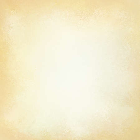 Old Yellowed Paper Background With Vintage Texture Layout Off White Or Cream Color Stock