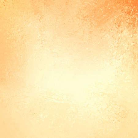 rustieke gele grunge achtergrond met oranje grungy grens en vintage textuur ontwerp