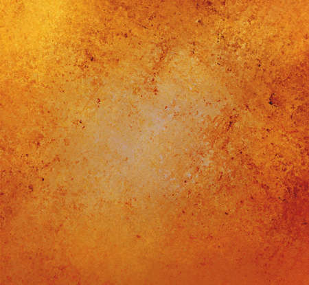 gold textured background: rustic gold orange and gold background with vintage textured paint Stock Photo