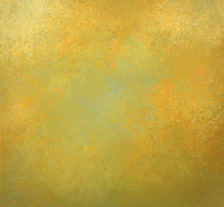 gold textured background: faded green and gold background with vintage textured paint