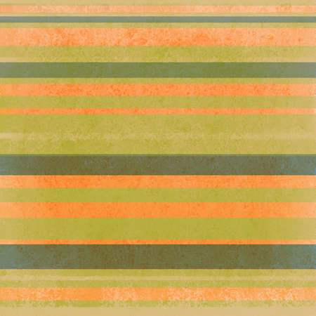 cute bright green and orange striped background Stock Photo