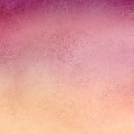 peach and mauve pink background with gradient color and vintage texture Banque d'images
