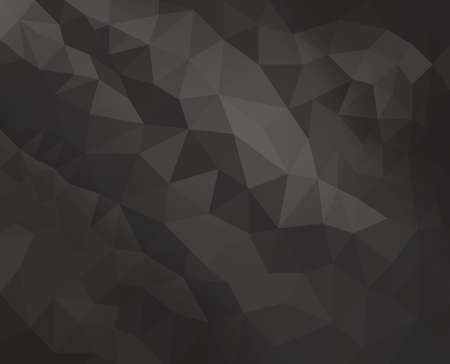 facet: black low poly background with diamond facet or crystals texture concept Stock Photo