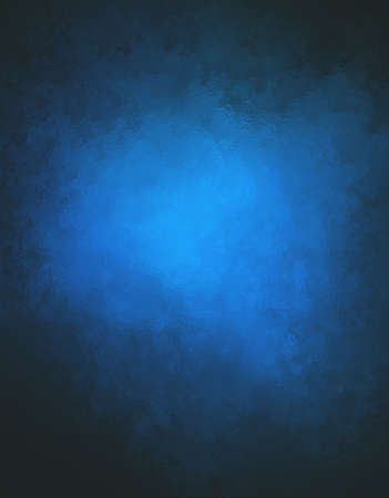 black blue: blue background with black border and glass or foil texture detail Stock Photo