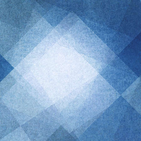angle: blue and white abstract background with squares triangles and angles layered in geometric pattern design with grainy texture