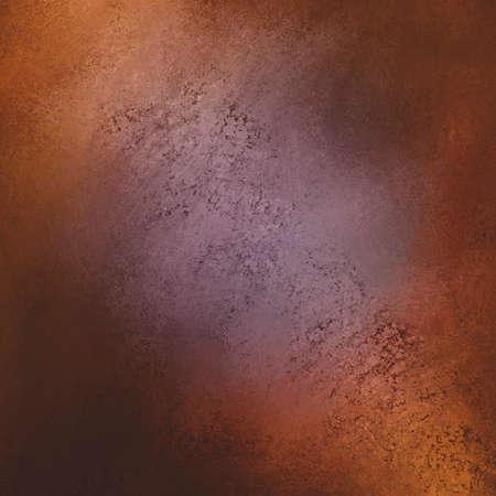 cobre: oro marrón púrpura y cobre de fondo, la textura de mármol marrón esponja con centro púrpura y borde cobrizo con sombras negras, fondo elegante de lujo