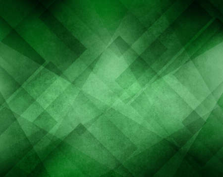 green line: green background with abstract geometric triangle line design