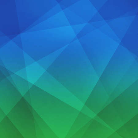 blue and green: sky blue and grass green background concept with low poly style lines and shapes in geometric intersecting line pattern