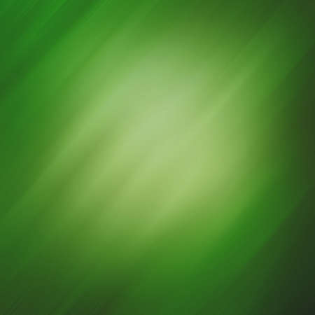 background green: elegant green background with diagonal motion blur effect streaks on shiny metallic background color with yellow spotlight center Stock Photo