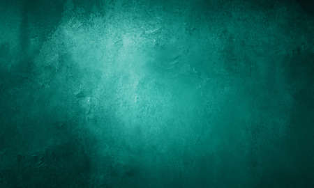abstract teal blue background with shiny metallic surface with pitted scuff marks and vintage texture