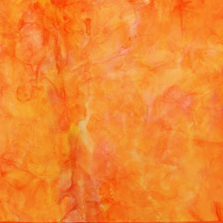 orange red and gold watercolor painted background