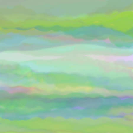 ink and wash: digital watercolor background paint in pretty soft pastel colors in sunrise or sunset on clouds in sky concept