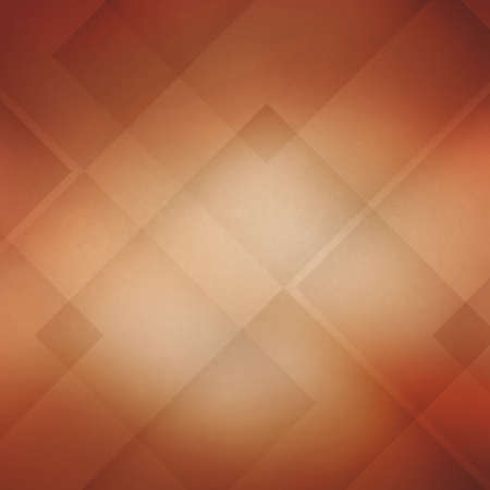 peachy: abstract background with angles and triangles, blocks and diamond shapes in random layered pattern, warm autumn orange background image for graphic art projects or website background design Stock Photo