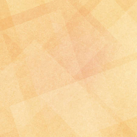 beige: layered white square and triangle shapes on soft orange and gold background, abstract modern background design