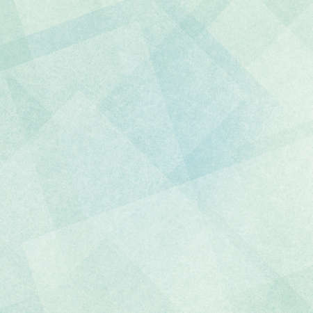 diagonal stripes: background with white transparent rectangles and squares layered on pale blue background, white shapes have linen canvas type texture design