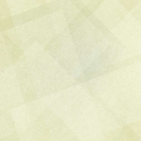 diagonal: background with white transparent rectangles and squares layered on pale yellow background, white shapes have linen canvas type texture design