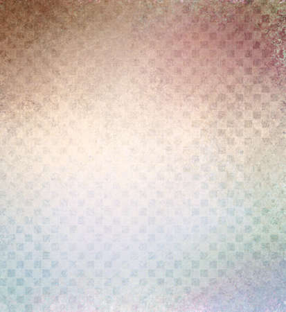 faded: faded multicolor color background with spotted vintage block texture pattern and faded colors