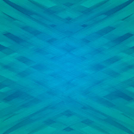 smeary: textured blue and green background with woven paint brush strokes
