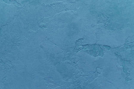 textured backgrounds: blue background with painted cracked plaster wall texture design