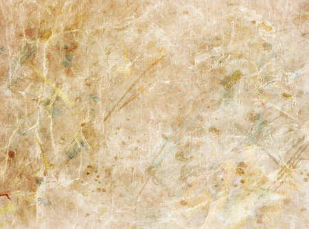 sheet of paper: old brown paper texture Stock Photo