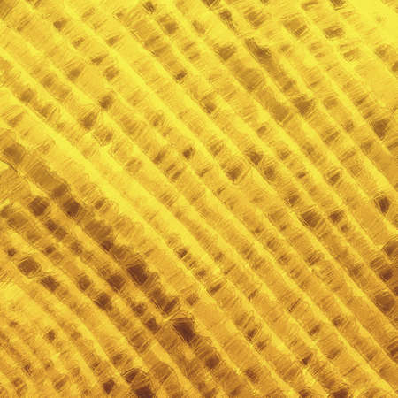 gold glass background, diagonal rows or stripes of glass textured brown and yellow abstract pattern design
