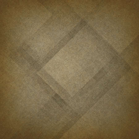 diagonal: brown abstract background, geometric angles with textured layers Stock Photo