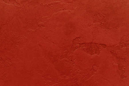 worn: red background with painted cracked plaster wall texture design