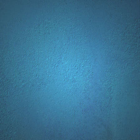 canvas texture background with thick blue paint Stock Photo