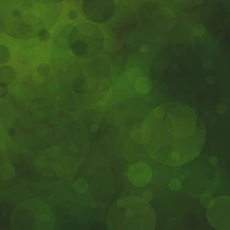 dull dark green background with elegant faint circle shapes layered in random pattern