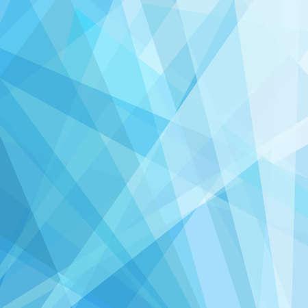 Abstracte geometrische blauwe en witte achtergrond, verse schone lijnen en zachte gradiëntkleur in heldere tinten van luchtblauwe, eigentijdse of moderne kunststijl achtergrond, digitale lay-out voor website ontwerp Stockfoto