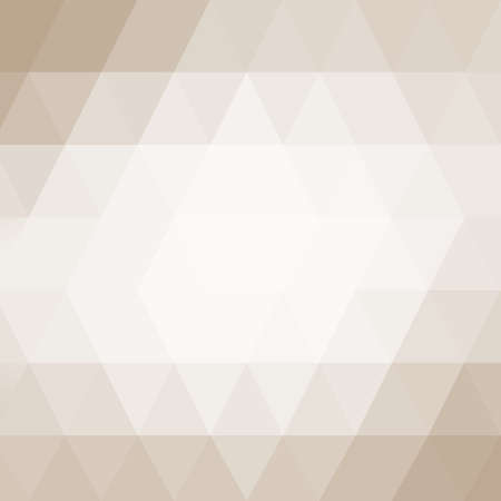 light brown background: soft white low poly background with light brown border, triangle shapes in mosaic pattern of diamonds in diagonal striped rows